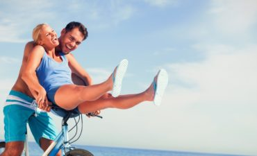 Bike Riding into the Summer on the Beach with Garber Communities