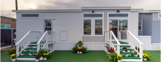 An exterior view of SALE PENDING! 138 Travel Park Dr. - Lot 141
