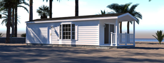 An exterior view of 138 Travel Park Dr. - Lot 35