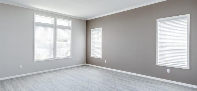 Large windows provide plenty of light