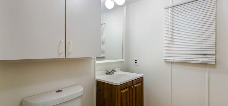 Bathroom with window