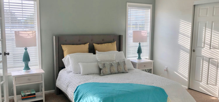 Spacious Master bedroom with large closet