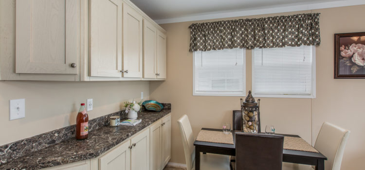 Dining area/breakfast nook with serving bar