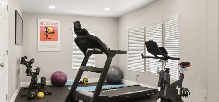 Enjoy a light workout in our Fitness Room