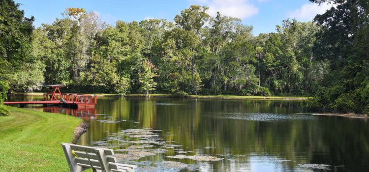 Take a nature walk around our private lake