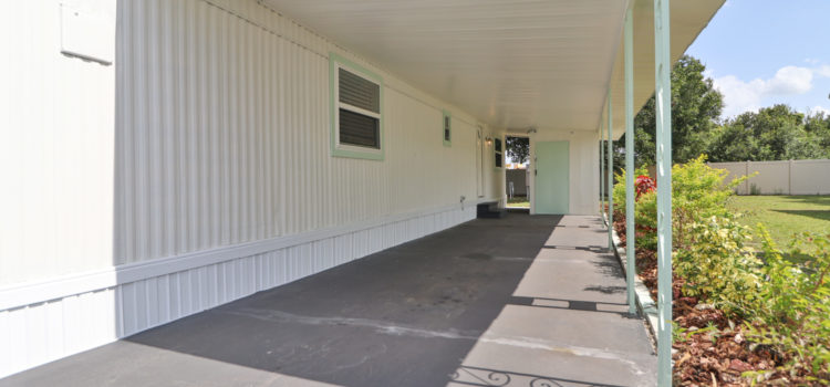 Extended Carport and Driveway