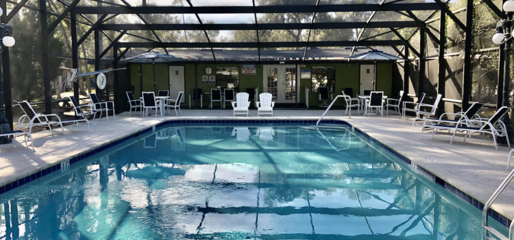 Take an afternoon dip in our heated pool