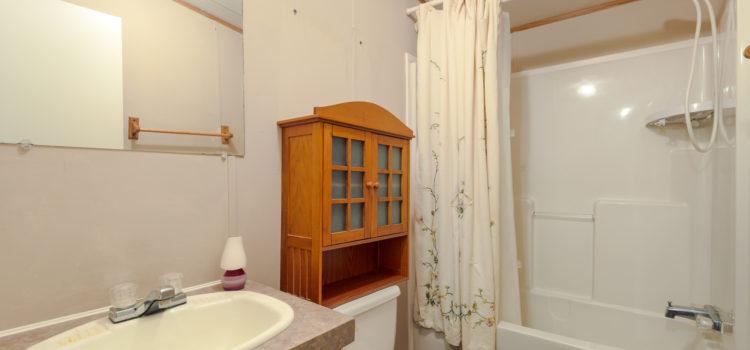 Master bath with shower & tub
