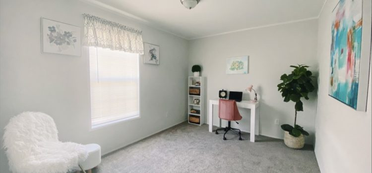Great as an Office or Guest Room