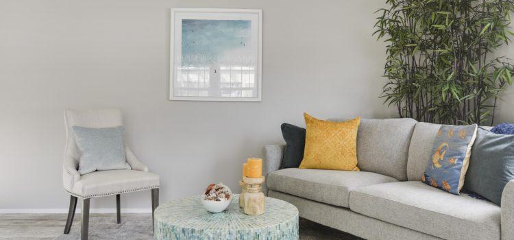 Enjoy spacious living with an open floor plan