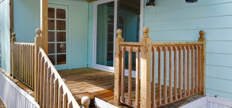 Enjoy sitting on your very own private porch