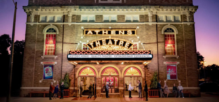 Catch a Broadway play or concert at Athens Theatre