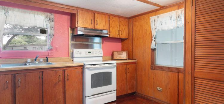 Classic wood cabinets