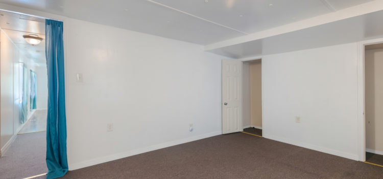Master bedroom with ample closet space