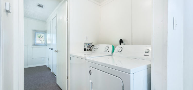 Utility room with washer & dryer
