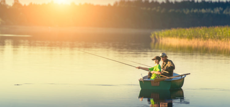 Spend the day fishing on the St. John's River
